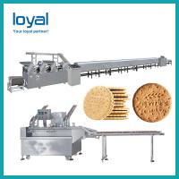 Buy cheap Stainless Steel Industrial Biscuit Manufacturing Process /Small Scale Biscuit Machine from wholesalers