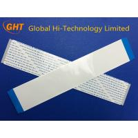 Tin Plating 80 Pin PET Ribbon Flat Cable 0.5mm Pitch For Scanner , Fax Machine Manufactures