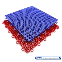 Buy cheap 350g removable PP Interlocking Sports Tiles Waterproof Anti Skidding from wholesalers