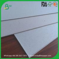 Buy cheap 1000gsm 1200gsm 1500gsm 2000gsm grey chip board solid grey card board from wholesalers