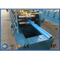 Buy cheap PLC Automatic Controlled Awning Tube Cold Roll Forming Machine With Flying Saw Cutting from wholesalers
