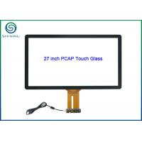 Wholesale 27 Inch PCAP Touch Glass Kit with USB Controller For Capacitive Touch Monitors from china suppliers