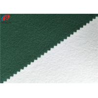 Buy cheap Warp Knitting Brushed Fabric , Polyester Tricot Fleece Fabric , School Uniform Material from wholesalers