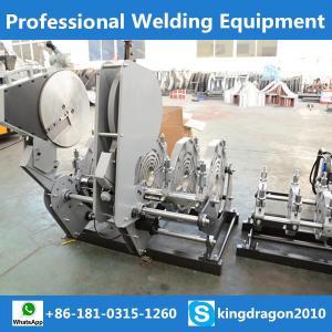China hydraulic butt fusion welding machine on sale
