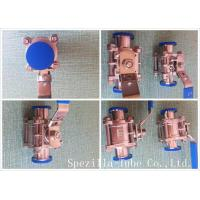 Wholesale Asme Bpe Tp316l Stainless Steel Sanitary Valves High Purity Clamp Type from china suppliers