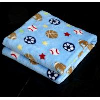 Buy cheap super soft  1 ply printed fleece flannel children baby blanket from wholesalers