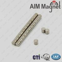 Buy cheap n35 ndfeb magnet cylindre 3mm x 4mm from wholesalers