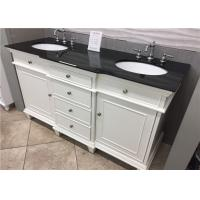 """Wholesale 22"""" Wide Black Custom Bathroom Vanity Tops With Sink / Size Customized from china suppliers"""