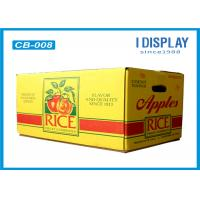 Corrugated Large Fruit Packaging Box / Cardboard Gift Boxes  With Customized Logo Manufactures