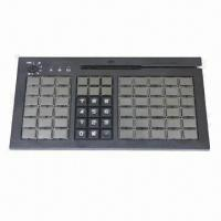 Buy cheap Programmable POS Keyboard with 66 Cherry Keys/3 Tracks Magnetic Stripe Card Reading/USB Interface from wholesalers