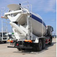 Buy cheap EuroII Diesel Manual 2019 Sinotruk HOWO A7 Concrete Mixer Truck  with Italy PTO and10 Tires 8cbm 6x4 from wholesalers