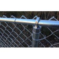 Buy cheap PVC Coated Anti Climb Chain Link Fence , Zig Zag Pattern Building Site Fencing from wholesalers