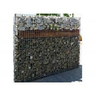 Buy cheap Hot Dipped Welded Gabion Stone Cages Gabion Retaining Wall For Garden Fence from wholesalers