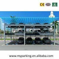 Buy cheap 2-6 Levels Stack Parking System Smart Parking System/Parking System Project Car Stacker from wholesalers