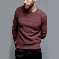 Buy cheap Adult Easy Crochet Pullover Sweater , Marl Texture Lightweight Pullover Sweater from wholesalers