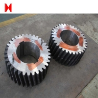 Buy cheap Metal Induction Quenching Hardened Steel Spur Gear from wholesalers