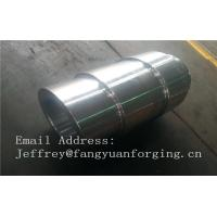 Buy cheap 18CrNiMo7-6 8822H 4140 4330 Alloy  Steel Open Die Forged Shaft Heat Treatment And Machined from wholesalers