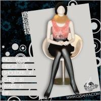 Buy cheap sitting full body female mannequins young models from wholesalers