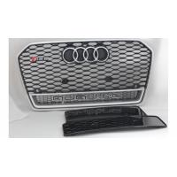 Buy cheap Black Car Grill Cover Chrome Front Grilles For 2016 Audi RS6 Quattro from wholesalers