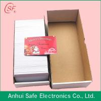 Buy cheap pvc card printable from wholesalers