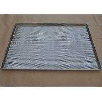 Buy cheap Perforated Stainless Steel Wire Mesh Tray Food Grade For Food Industry from wholesalers