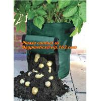 Buy cheap potato planter with 7/10 gallon potato planter,potato grow pots with handles flap for easy havesting, and drainage holes from wholesalers