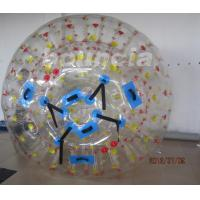 1.0mm PVC Tarpaulin Inflatable Zorb Ball With One Entrance And Plug Manufactures