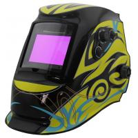 Buy cheap Solar Powered Auto Darkening Welding Helmet , Auto Tint Welding Helmet CE Approved from wholesalers