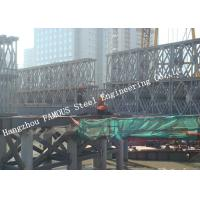 Buy cheap HD200 Double Row Deck Type Modular Steel Bailey Bridge Hoisting Installation In Site from wholesalers
