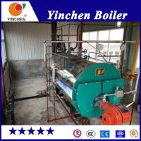 Buy cheap Laundry Diesel Steam Boiler / Natural Gas Fired Boiler Remote PLC Control from wholesalers