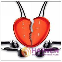Buy cheap 2GB Cute Pretty Lover's MP3 Player with Touch Key pad Necklace MP3 from wholesalers