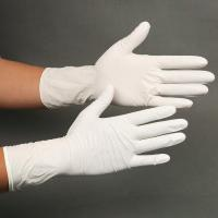 Buy cheap Disposable Powdered Nitrile Latex Gloves Convenient Uniform Thickness Distribution from wholesalers