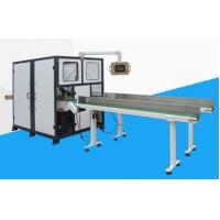 Buy cheap Delta Servo Motor  Log Saw Cutting Machine , Toilet Roll Cutting Machine High Speed from wholesalers