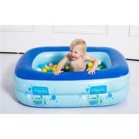 Buy cheap Inflatable Baby Swimming Pool Eco-friendly PVC Portable Children Bath Tub Kids Mini-playground 110X90X35cm from wholesalers