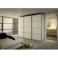 Buy cheap 2018 Vermont Bedroom Modern White Particle Board Sliding Door Wardrobe from wholesalers