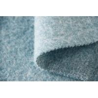 Buy cheap Mohair Yarn Plain Quilting Fabric , Japanese Boucle Wool Fabric 57 / 59 Width from wholesalers