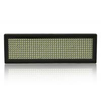 Buy cheap Small Scrolling LED Name Badge , Digital Programmable LED Name Tags from wholesalers
