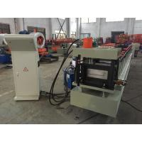Buy cheap Galvanized Steel Floor Deck Roll Forming Machine 28 Stations 0.75 - 1.2mm Thickness from wholesalers