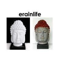 Buy cheap White Brown Home Decorating Accessories polyresin Buddha Head from wholesalers