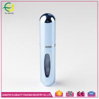 Buy cheap Skin care refillable perfume atomiser silk-screen printing round aquare shape from wholesalers