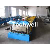 Wholesale 0.8-1.0mm thickness, CE Approved Floor Deck Roll Forming Machine from china suppliers