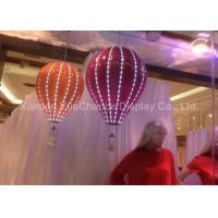 Buy cheap Women Dress Store Fiberglass Balloons Custom Size Decorative Hanging With LED from wholesalers