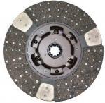 Buy cheap 1312408921 Isuzu Clutch Disc Genuine Parts 430mm * 10T For CXZ  CYZ 10PE1 from wholesalers