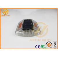 Yellow Polycarbonate Solar Road Cats Eyes Road Markings Path Deck Dock LED Light Manufactures