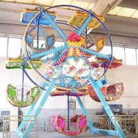 Buy cheap High Performance Fairground Ferris Wheel / Indoor Ferris Wheel With 5 Cabin from wholesalers