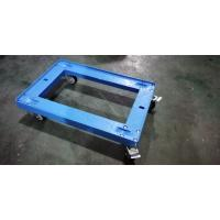 Buy cheap Transportation Plastic Dolly Loading Totes With 3 Inches PU Brake Casters from wholesalers