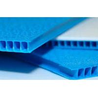 Buy cheap Industrial Plastic Fluted Board PP Fluteboard For Printing / Packing / Protection from wholesalers