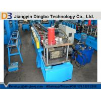 Buy cheap Light Steel Stud And Track Roll Forming Machine With Chain / Gear Box Driven System from wholesalers