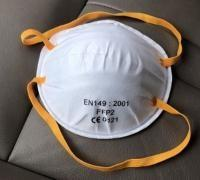 Buy cheap Particulate Respirator FFP2 Face Mask Disposable For Industrial / Hospital from wholesalers