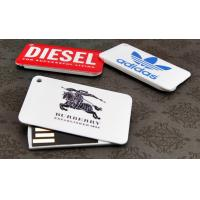Buy cheap Plastic Credit Card USB Stick / Wallet Size Usb Flash Drive Business Card from wholesalers
